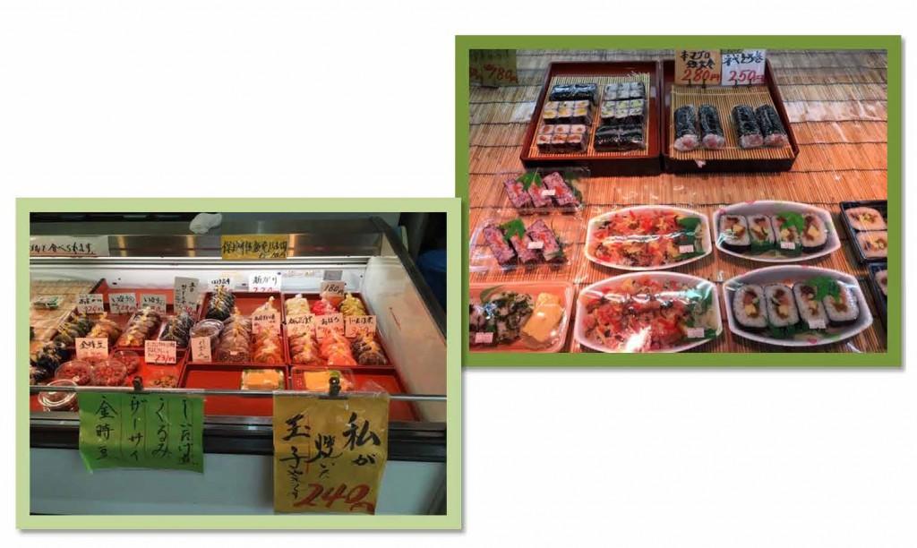 お寿司屋さんです。握り寿司やちらし寿司など種類豊富!玉子焼きもおいしくて体に沁みます。